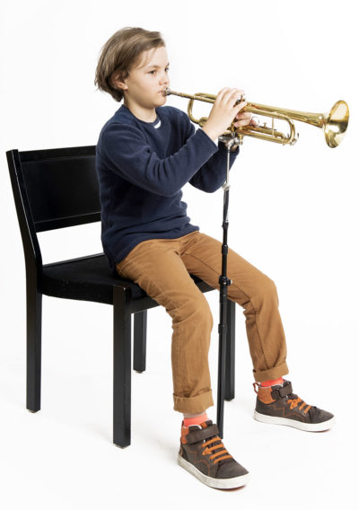 Young trumpetist with the ERGObrass